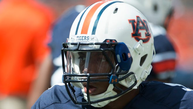 Auburn running back Roc Thomas could make his debut this week.
