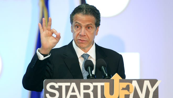 Gov. Andrew Cuomo announces that Datto, a company founded by Rochester Institute of Technology grad Austin McChord, will open an office in Rochester as part of the Start-Up NY program.