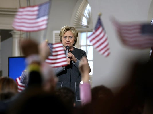 BESTPIX - Hillary Clinton Campaigns Across U.S. Ahead Of Super Tuesday Primaries