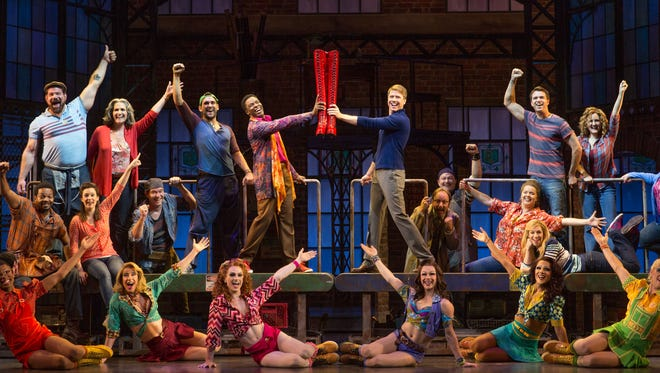 """Kinky Boots,"" winner of six Tony Awards including Best Musical in 2013, will kick off the 2015-16 Kimberly-Clark Broadway Across America-Fox Cities Series at the Fox Cities Performing Arts Center in October."