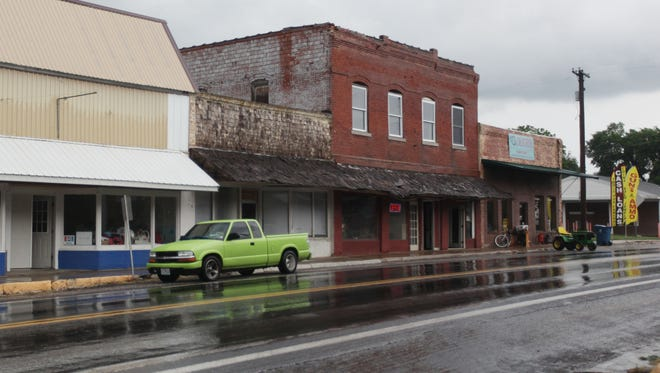 Main Street in Sparta is shown in a 2014 photo.