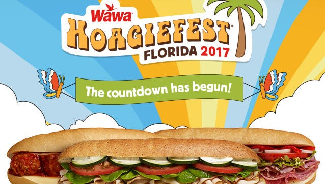Wawa has its first Florida spring Hoagiefest Feb. 20 through April 2.