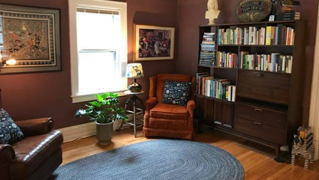 Heart Haus, in Milwaukee's Bay View neighborhood, has hosted guests from as far away as Thailand through the online lodging network Airbnb. Wisconsin hosts saw a 97% increase in Airbnb guests in 2017, the company said.