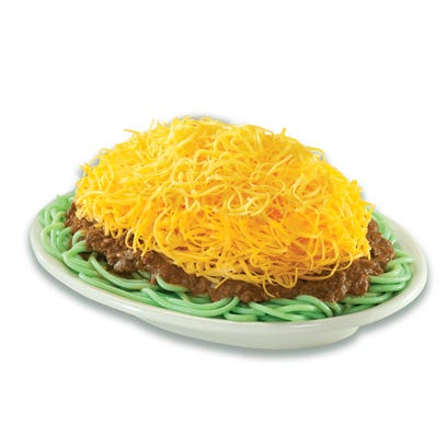 Is Skyline's St. Patrick's Day green spaghetti a dream come true or living nightmare?
