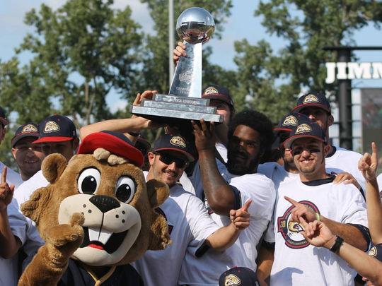 The Birmingham-Bloomfield Beavers played in their second straight USPBL title game, winning their first championship early last month.