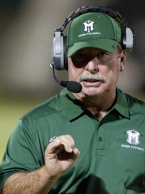 Mark Rogers retired Tuesday as the El Diamante High football coach.