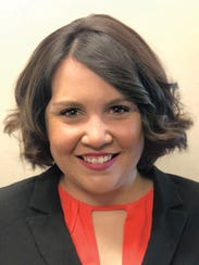 Amber Hesford, manager of the new Navy Federal Credit
