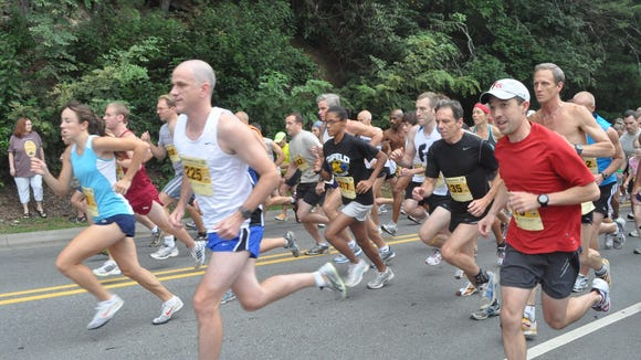 Hundreds of runners are expected for the 27th running of the Sourwood 5K in Black Mountain Saturday.