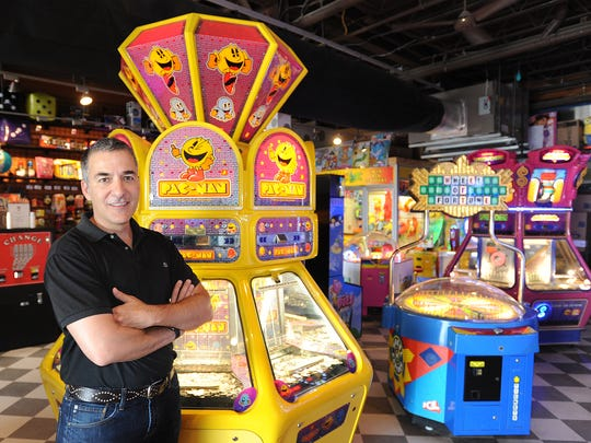 Playland on the Boardwalk owner Bill Frankis prepares for the Memorial Day beach crowd in Rehoboth Beach.