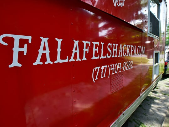 Amer Chaudhry and his wife Jasmina Ademovic will open Falafel Shack at 9 N. Main Street, at Memorial Square, Chambersburg.