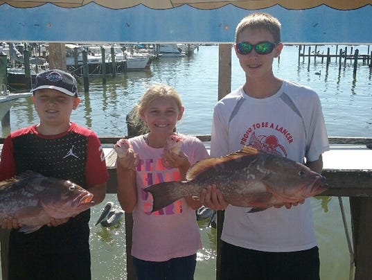 Southwest florida fishing report cold front knocks out for Southwest michigan fishing report