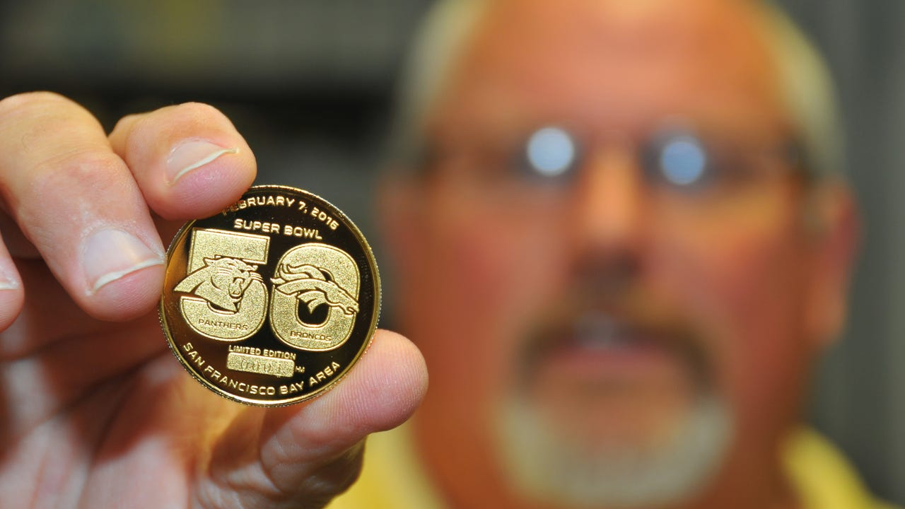 5 things to know about the gold coin of Super Bowl 50. Video posted Jan. 29, 2016, by Jennifer Sangalang & Malcolm Denemark, FLORIDA TODAY