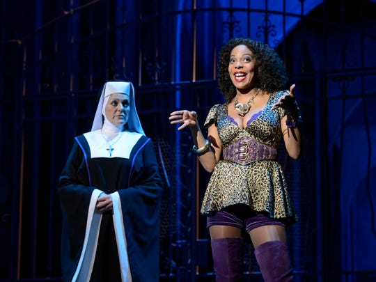 "The national tour of ""Sister Act"" visits Stephens Auditorium in Ames on Dec. 18."