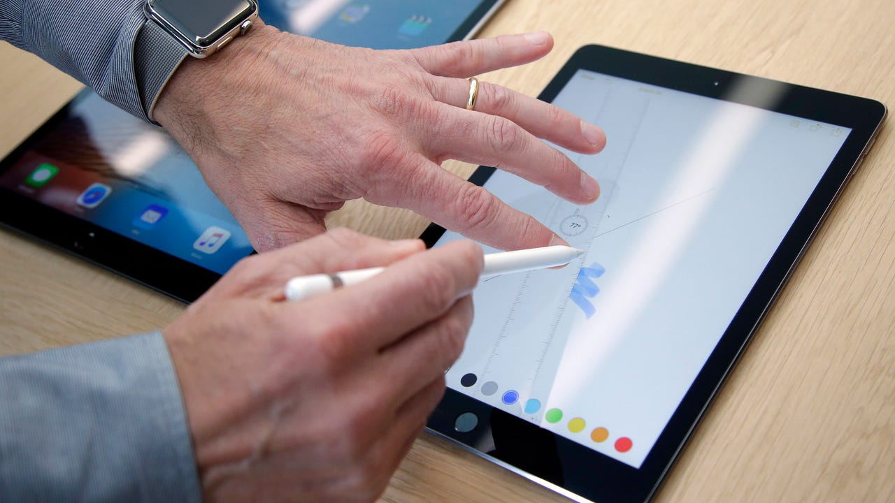 Ed Baig checks out the new 9.7-inch iPad Pro, with a screen size similar to the original iPad. The prices, however, can quickly get into laptop territory.