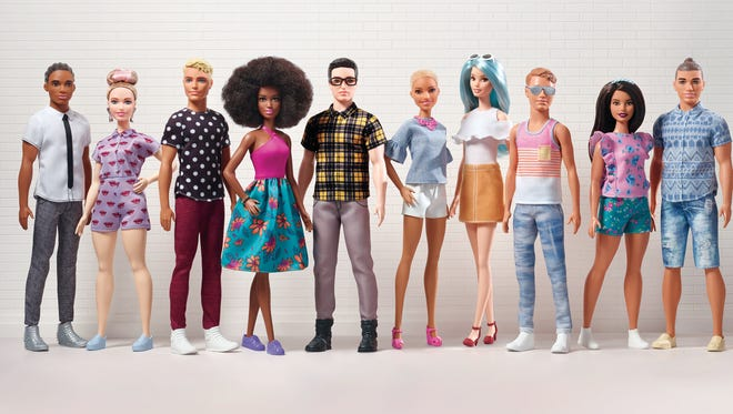 15 new and diverse Ken dolls will be offered at Toys R Us starting in July