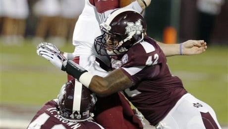 Mississippi State linebacker moved into the starting role left by Deontae Skinner and has excelled at it.
