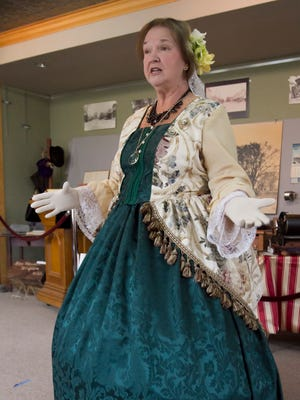 """Christina Miller will present the one-woman show """"An Evening With Mary Todd Lincoln"""" this weekend at the City of Brighton Arts, Culture and History Center."""