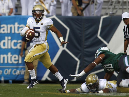 NCAA Football: Tulane at Georgia Tech