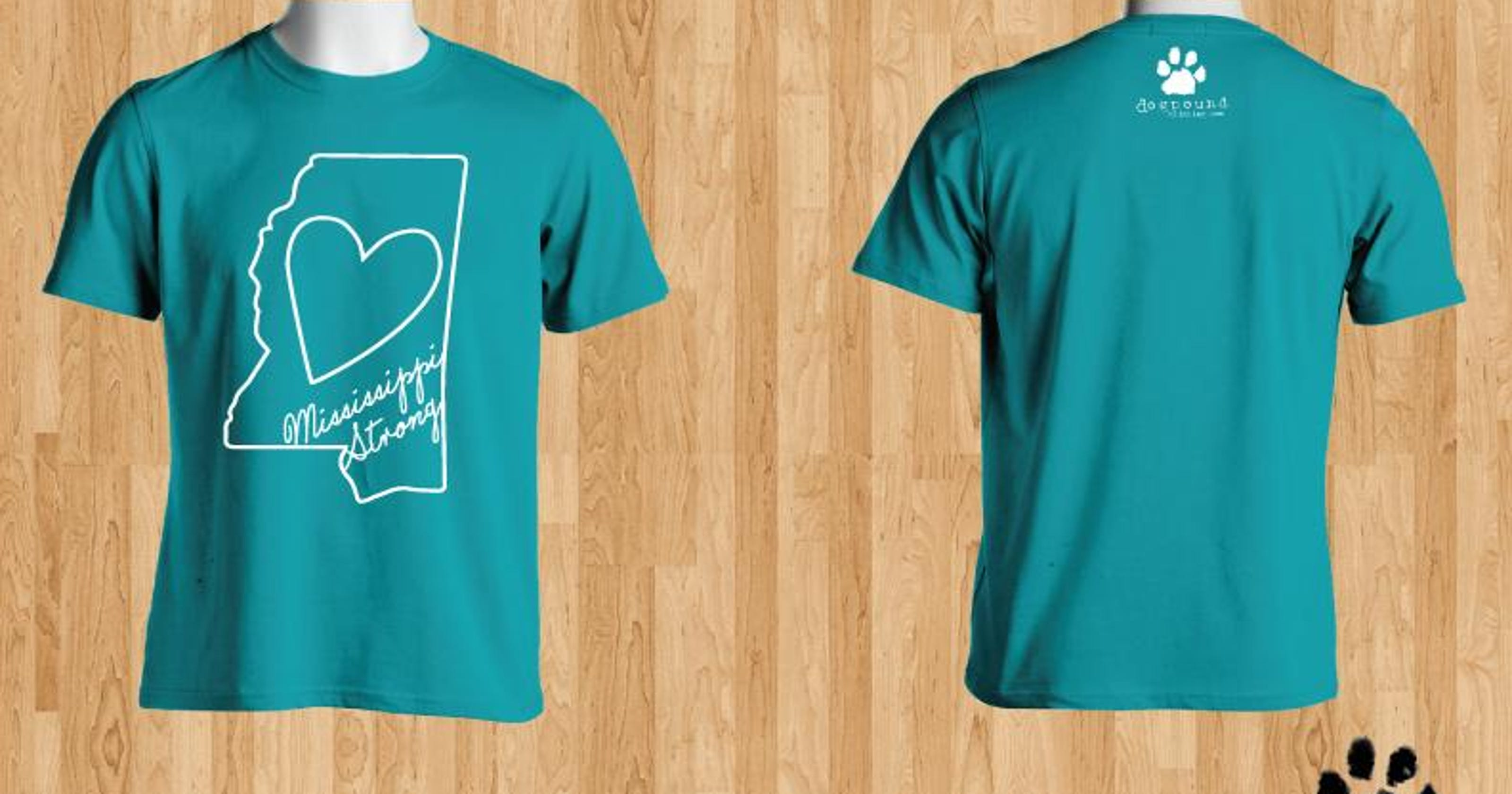 Shirt Designs Are Mississippi Strong