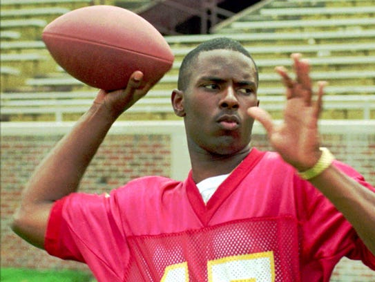 This file photo from 1993 shows former Florida State