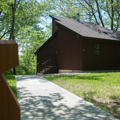 New lights and pavement lead the way to cabins at Whitewater