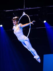 Cirque Musica teamed up with the Binghamton Philharmonic