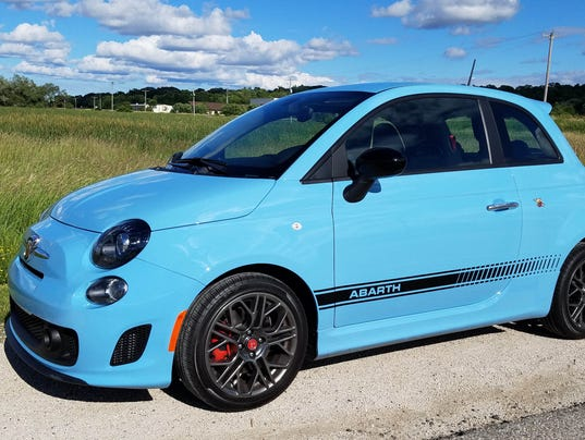 Savage At 21000 Fiat 500 Abarth is a tiny bargainpriced joy