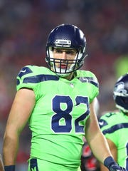 Seahawks tight end Luke Willson on Nov 9, 2017.