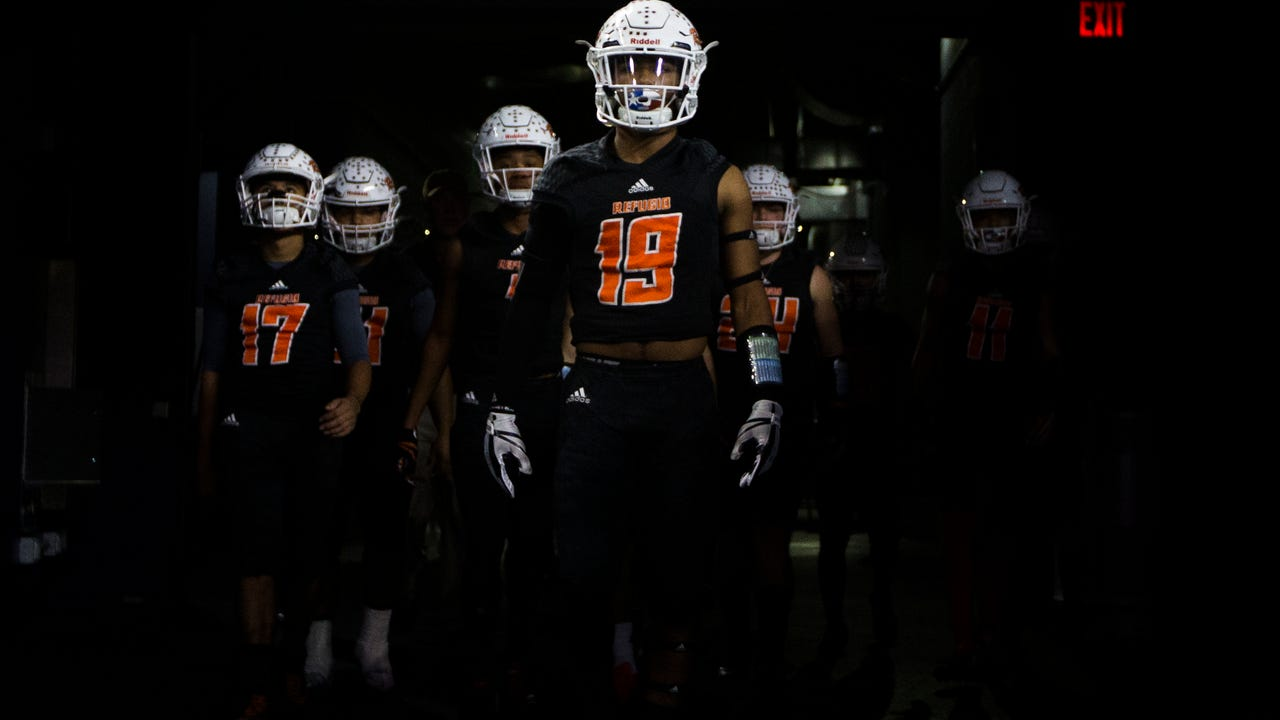 Refugio plays Mart in the Class 2A Division I state championship game at At&T Stadium in Arlington TX.