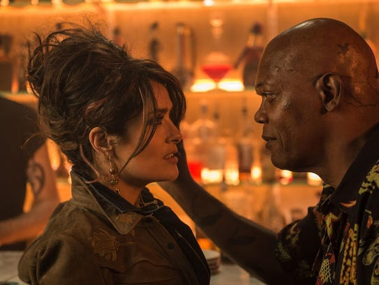 Salma Hayek and Samuel L. Jackson are a married couple