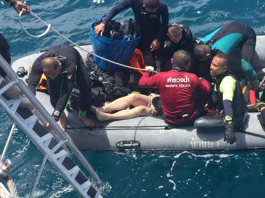 Thailand Boat Accidents