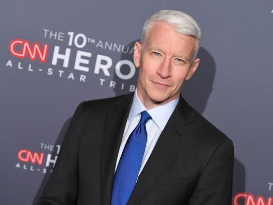 Anderson Cooper attends the CNN Heroes All-Star Tribute