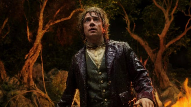 """A still from """"The Hobbit: An Unexpected Journey"""" (2012), in which Martin Freeman played the reluctant adventurer Bilbo Baggins."""