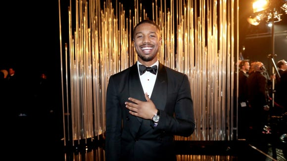 Michael B. Jordan is one of the most famous people named Michael.