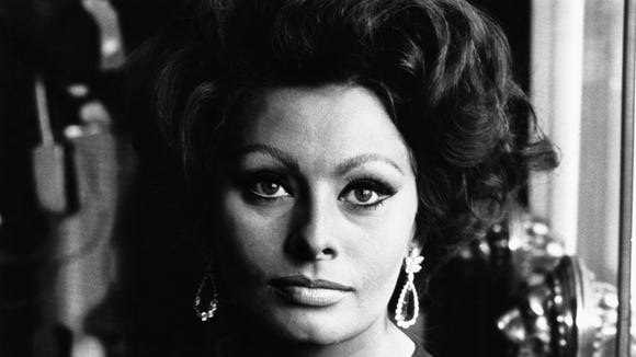 Sophia Loren is one of the most famous people named Sophia.