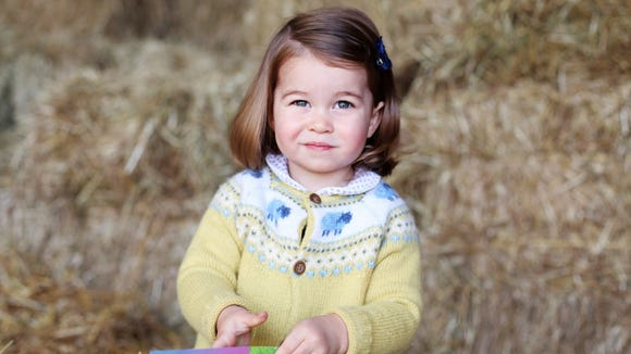 Princess Charlotte was born in 2015, but her name seems to always be a popular choice.