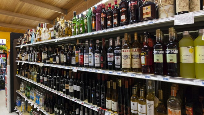 The alcoholic beverage delivery site Drizly reports that customers seem to be stocking up, with spending averaging 30% more than usual, with wine and liquor outpacing beer.