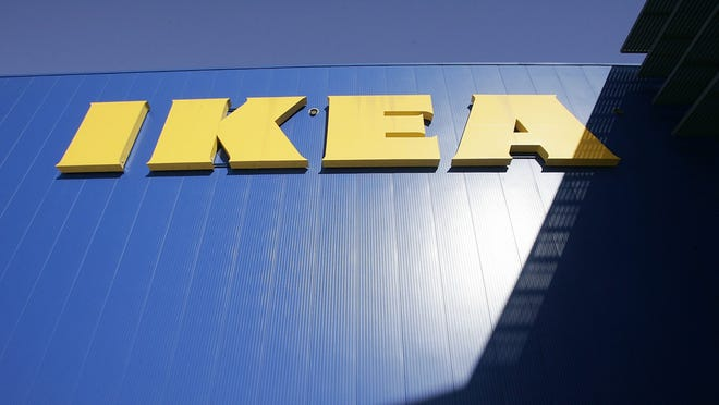 IKEA   • Effective date:  Since reopening   • US locations in 2019:  50 IKEA has required that people wear masks since it started reopening its stores in the United States. If necessary, each IKEA location will limit the number of customers inside a store in compliance with physical distancing guidelines. The children's play area remains closed.