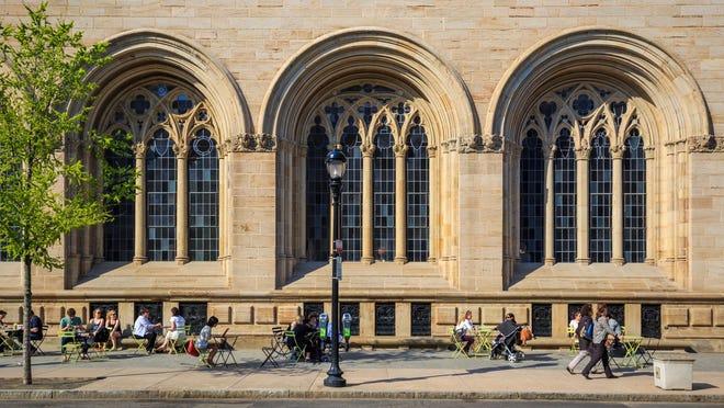 Yale University in Connecticut