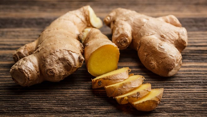Ginger contains many therapeutic compounds, all of which have well-documented medicinal actions in the body.