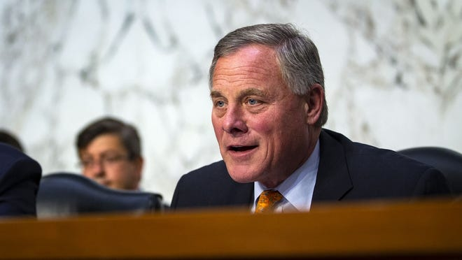North Carolina: Sen. Richard Burr (R)     • Est. net worth in 2018:  $7,426,213     • Assumed office:  Jan. 3, 2005     • Current term ends:  2023     • Approval rating:  38% approve; 34% disapprove