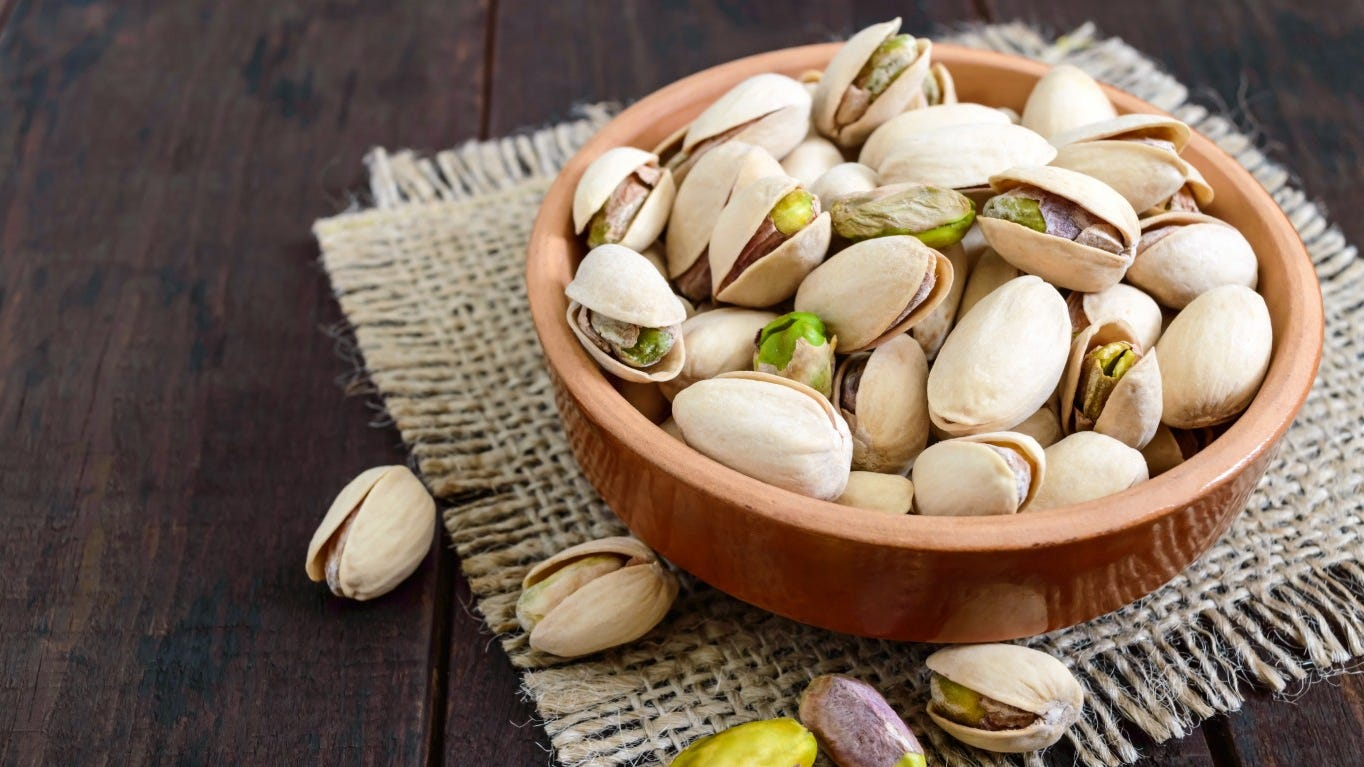 Man arrested after 21 tons of pistachios went missing from a California nut company