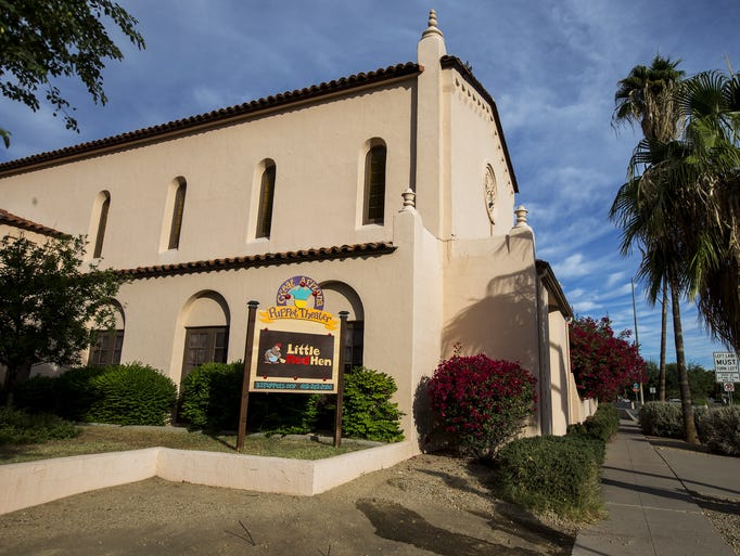 The Great Arizona Puppet Theater is pictured on Monday,