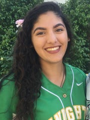 Briana Erran, from Phoenix St. Mary's, is azcentral sports' Arizona Sports Awards Female Athlete of the Week, presented by La-Z-Boy Furniture Galleries, for March 17-24.