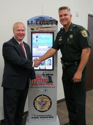 New kiosks have been installed in Okaloosa County to help fight crime.
