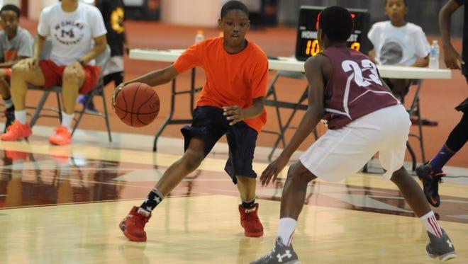 University of Maryland Eastern Shore summer basketball camp July 2, 2017.