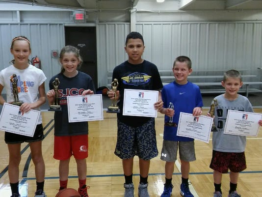 Elks host annual Hoop Shoot contest