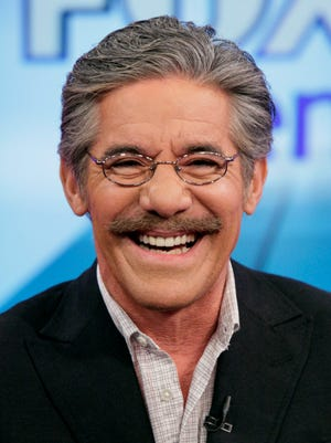 """FILE - Geraldo Rivera on the """"Fox & friends"""" television program in New York in this June 25, 2010 file photo. Rivera will be among the contestants on the upcoming """"Celebrity Apprentice."""" NBC on Tuesday, Nov. 4, 2014, announced the lineup of 16 personalities who will compete for their favorite charities as the reality show returns for a new season in the boardroom with Donald Trump on Jan. 4.  (AP Photo/Richard Drew, File)"""