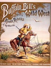 This 1893 poster for Buffalo Bill's Wild West is one of the most sought-after items by collectors.