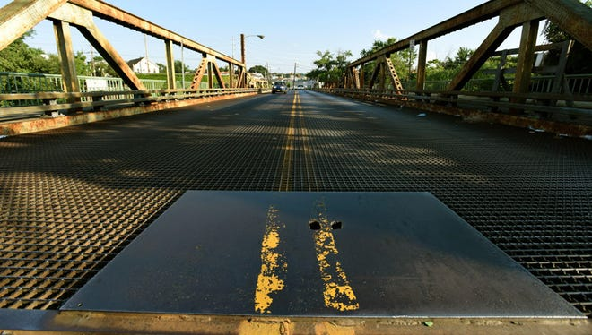 The project to rebuild the Eighth Street Bridge between Passaic and Wallington, N.J., over the Passaic River is one of hundreds of transportation projects in New Jersey that will close Friday, July 8, 2016.